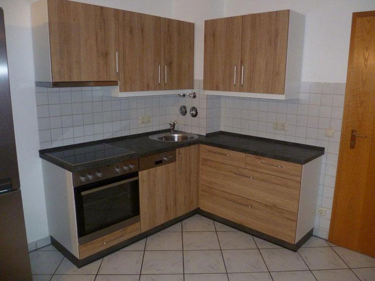 Einbauküche für Einzimmerappartement