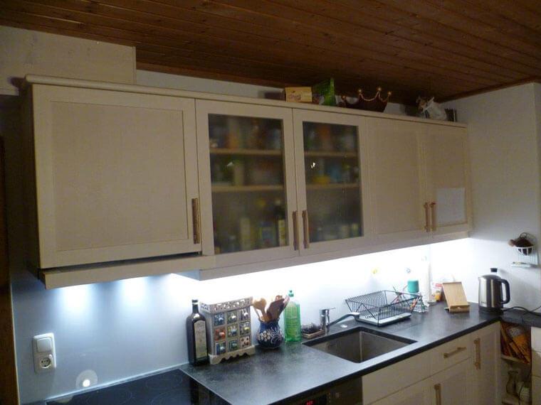 Referenz einer Küchenzeile von Wendelin Huber, Schreinermeister in Marktoberdorf